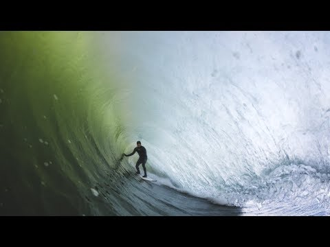 Sam Hammer Surfing New Jersey