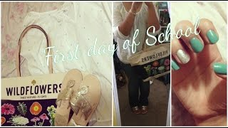 OOTD:FIRST DAY OF SCHOOL Thumbnail