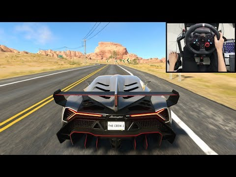 New York to Los Angeles - The Crew 2   Logitech g29 gameplay
