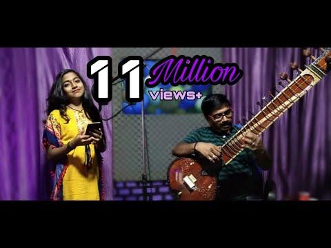 Kannana kanne - Viswasam song cover version by my daughter Varsha Renjith and me.....