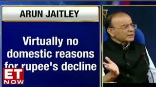 Arun Jaitley Speaks On Rupee Fall