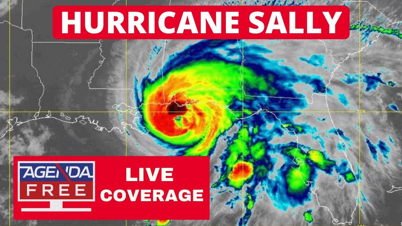 Hurricane Sally Live Coverage Continued Youtube