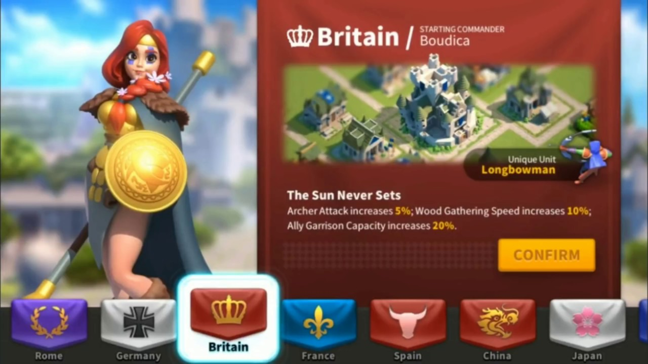 Rise of Kingdoms - [Beginners's Guide] Best Nations #1 Strategy MMO Game  2018