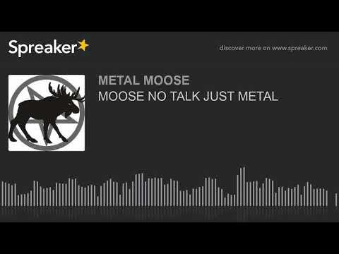 MOOSE NO TALK JUST METAL