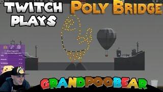Twitch Plays Poly Bridge!