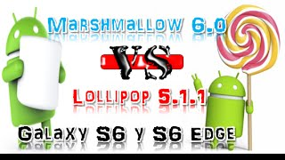 |Samsung Galaxy S6| Android Marshmallow 6.0.1 Vs. Lollipop 5.1.1 Speed Comparation