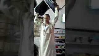 فرحه جنونيه لمشجع اهلاوي في قريه ميت محسن