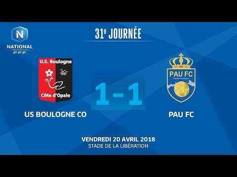 Vendredi 20/04/2018 à 19h45 - US Boulogne CO - Pau FC - J31