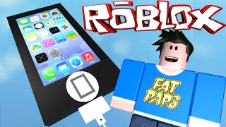 ESCAPE THE GIANT IPHONE!! ROBLOX