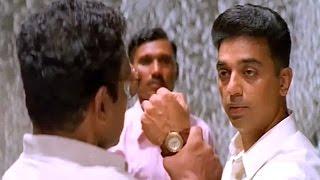 Drohi Movie Scenes - DCP Aadhi Intragate To Terrorist - Kamal Hassan, Nasser