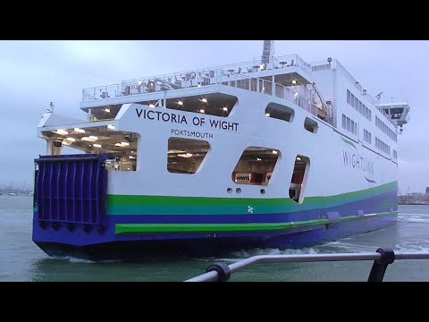 Wightlink - Victoria Of Wight - Portsmouth To Fishbourne