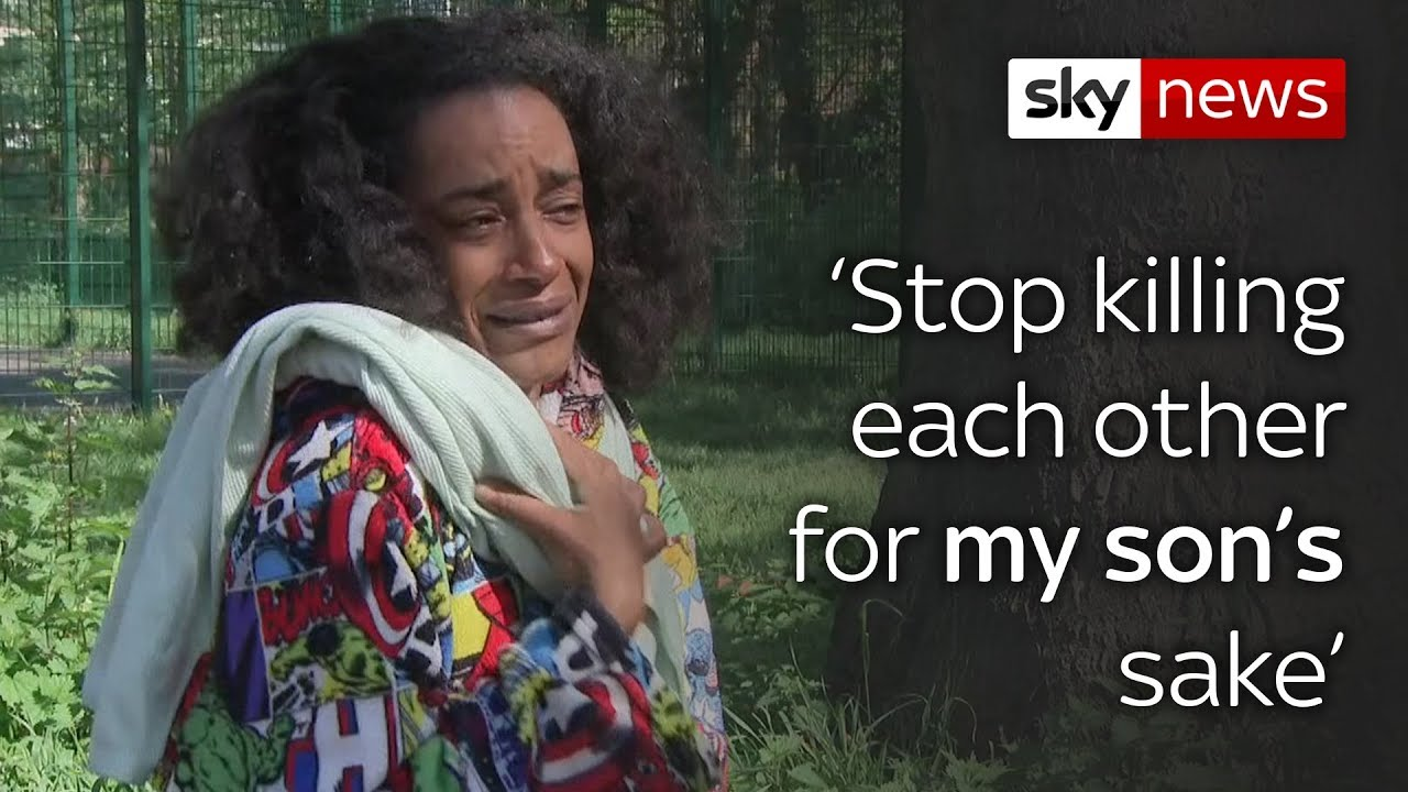 Mother of teen shot dead pleads for violence to stop