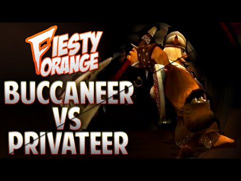 Pirate101 1v1 Buccaneer vs Privateer (LvL 65)