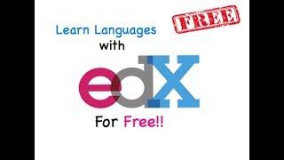 Free Language Courses With EdX!- Language Learning 101