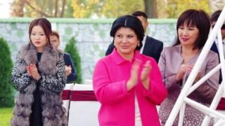 Свадьба в цвете Марсала Адилета и Чинары  Студия 'Eventica'