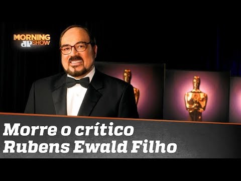 RIP - Rubens Ewald o mais popular crítico de cinema do Brasil