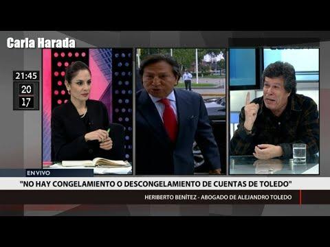 """Heriberto Benítez: """"Hay una asquerosa persecución contra Alejandro Toledo"""""""