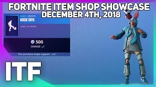 Fortnite Item Shop KICK UPS EMOTE IS BACK! [December 4th, 2018] (Fortnite Battle Royale)
