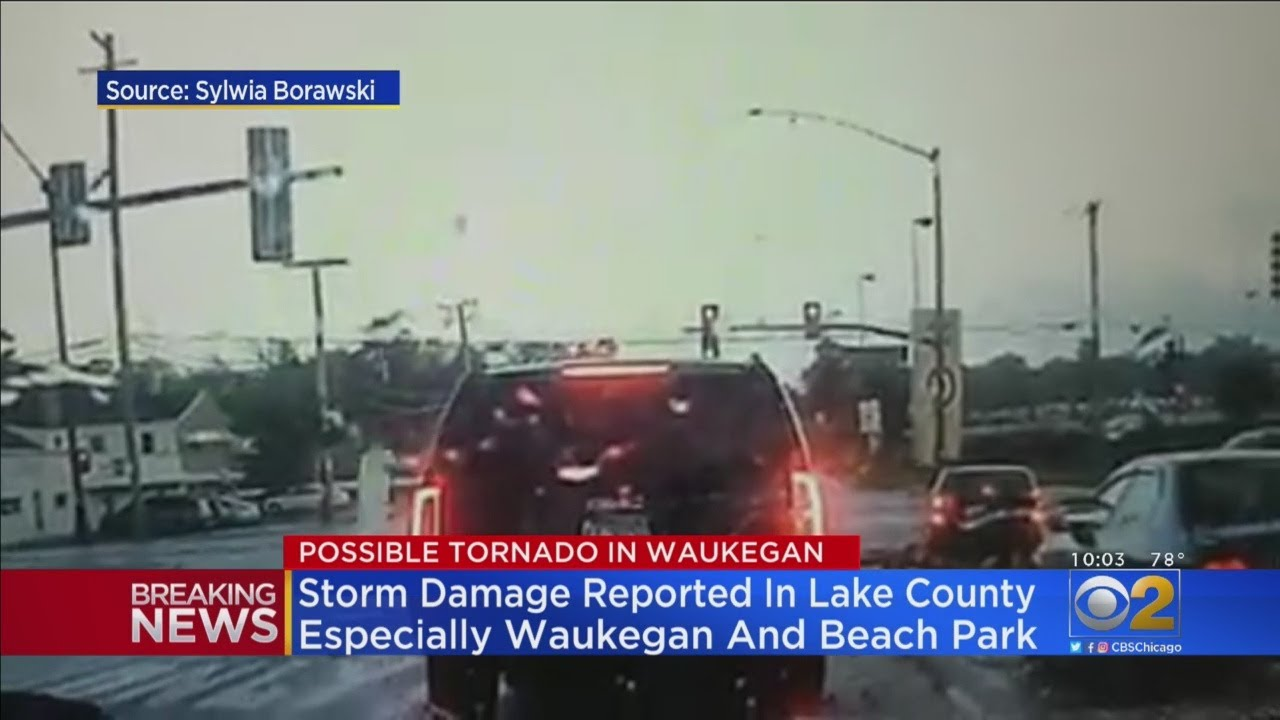 Chicago NWS Office Confirms Tornado in Beach Park and