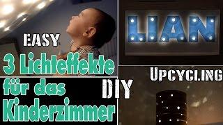 3 Dinge aus LED- Lichterketten | DIY Sternenhimmel | Upcycling | easy | mamiblock - Der Mami Blog