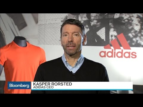 Adidas CEO Says Well Positioned for Global Brand Battle
