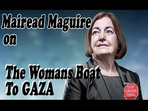 SFi037 - Mairead Maguire Peace Activist on Female AID boat to GAZA