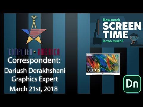 Dariush Derakhshani, Graphics Expert, Talks Adobe Dimension, Screen Time