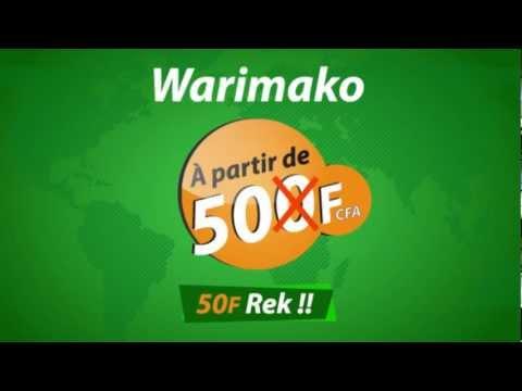 """Spot Radio Wari Sénégal (""""Campagne Wari à 50F"""")"""