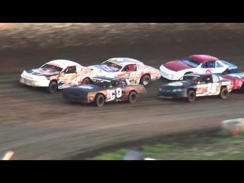 IMCA Stock Car Heats 34 Raceway 7/23/16