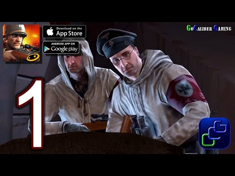 Frontline Commando WW2 Android iOS Walkthrough - Gameplay Part 1 - Battle Of The Bulge