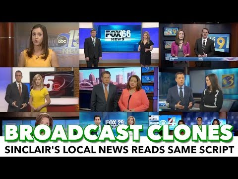 Local News Anchors Forced Into Reading The Same Script