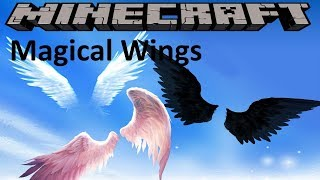 MAGICAL WINGS MOD - MINECRAFT 1.12.2 (MOD SHOWCASE)