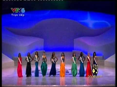Hoa hậu thế giới 2012 - Chung kết - Phần thi siêu mẫu - Hoa hau the gioi 2012
