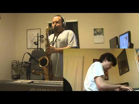 SNL Closing Theme Waltz in A - Tenor Sax/Piano