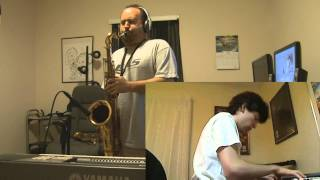 SNL Closing Theme Waltz in A - Tenor Sax/Piano