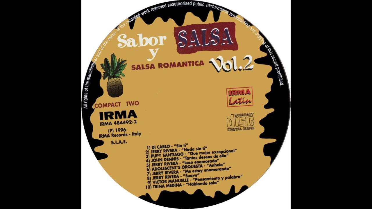 Sabor y Salsa Vol 2 - CD 2 - Track 7 - Me Estoy Enamorando HD 720p