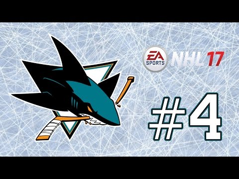 NHL 17 ~ San Jose Sharks GM Mode Commentary ~ #4 (Gearing Up for the Playoffs)