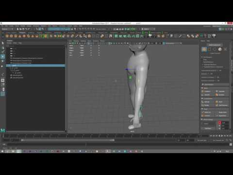 Maya 2017 | Easy Rigging Tutorial