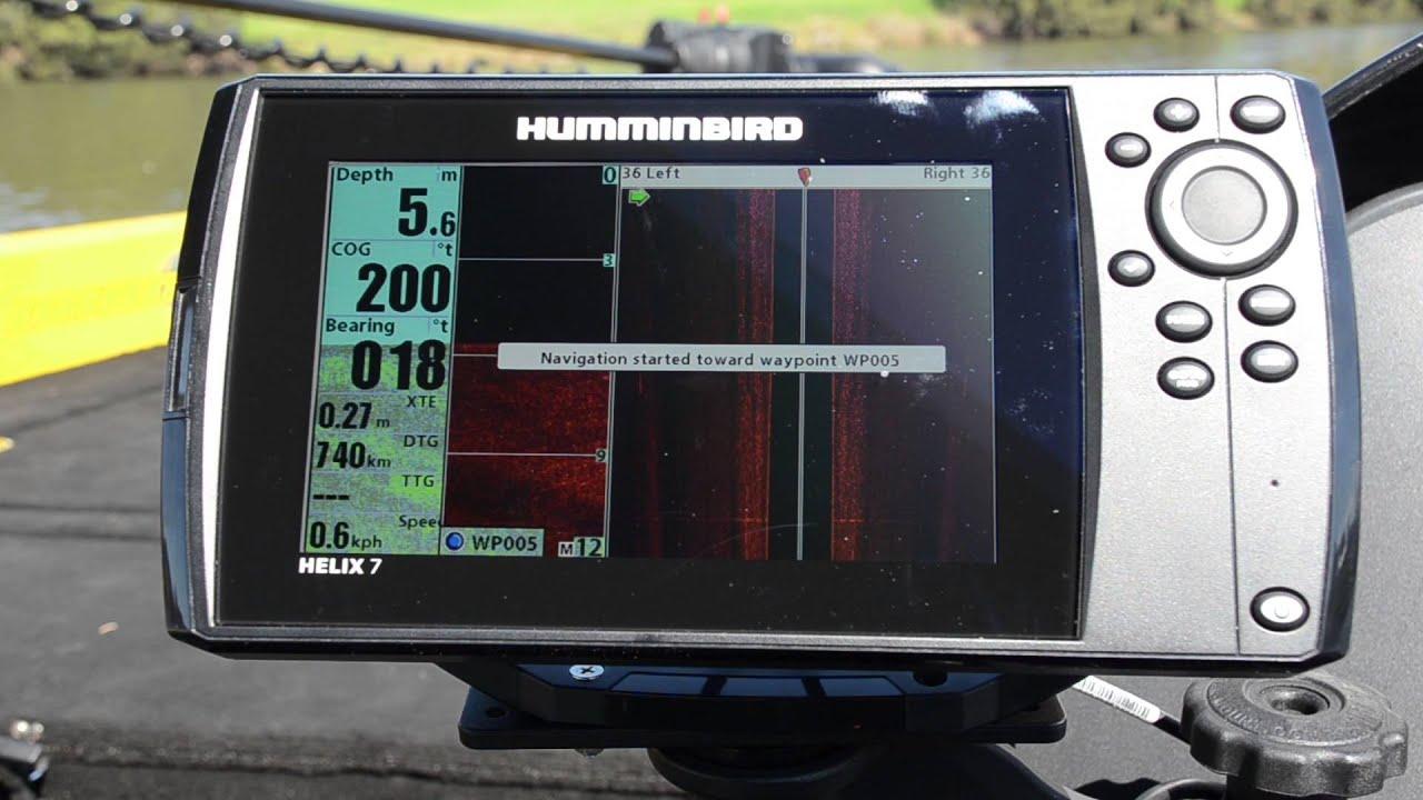 BLA – Humminbird Tech Tips – HELIX 7 SI GPS Overview