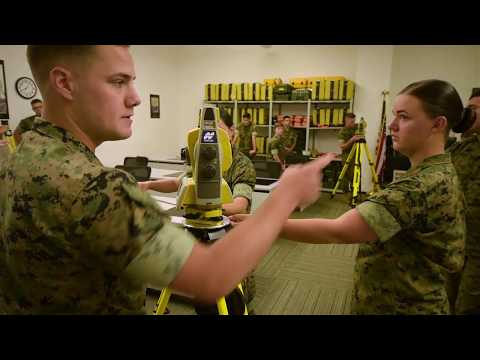 Marine detachment performs last survey training at NGA