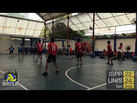 MRISA Junior Volleyball 2017 ISPP vs. UNIS - G9 - 10:20am (Boys) Outdoor Court