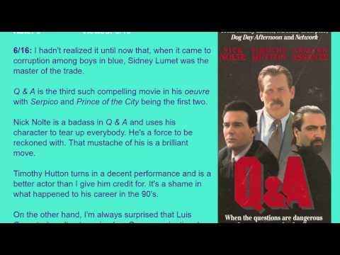 Movie Review: Q & A (1990) [HD]