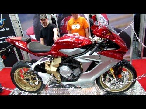 2013 MV Agusta F3 Serie Oro - Walkaround - 2013 Quebec Motorcycle Show