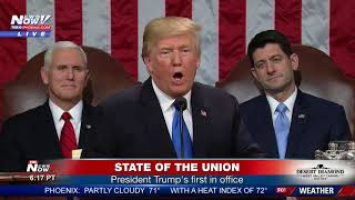 FULL SOTU: President Donald Trump's first State of the Union (FNN)