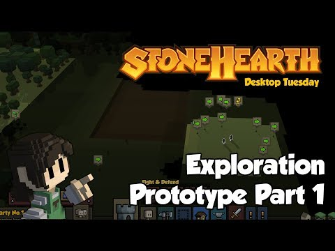 Stonehearth Desktop Tuesday: Exploration Prototype 1