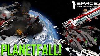 Space Engineers: PLANETFALL - Escape to Earth Base  - Uncooperative Survival #42 (Multi-PoV)