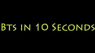BTS October in 10 Seconds + Nills to Bills information