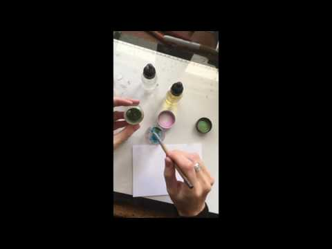 Pearl Ex Pigments For Calligraphy By Calligraphy Supplies Australia