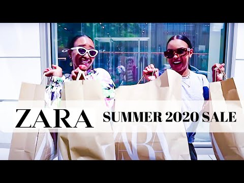 SUMMER 2020 ZARA SALE | COME SHOP THE SALE WITH US | THE YUSUFS