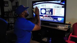 Ipodkingcarter's reaction to jahlil okafor drafted by philadelphia 76ers!